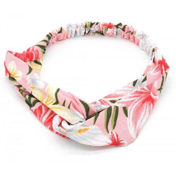 Haarband Flower Power l Roze