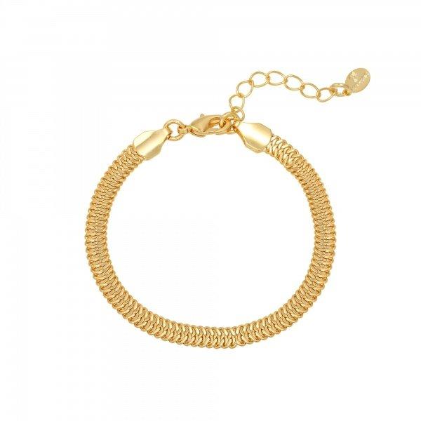 Yehwang Armband Snaky Chain Goudkleur