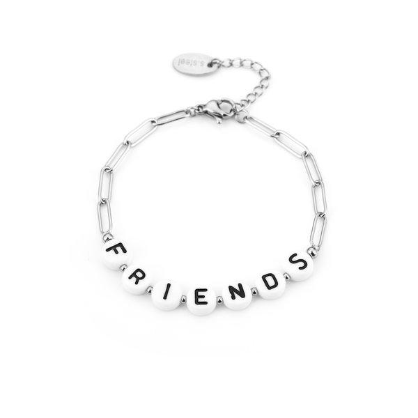Armband Friends l Zilver