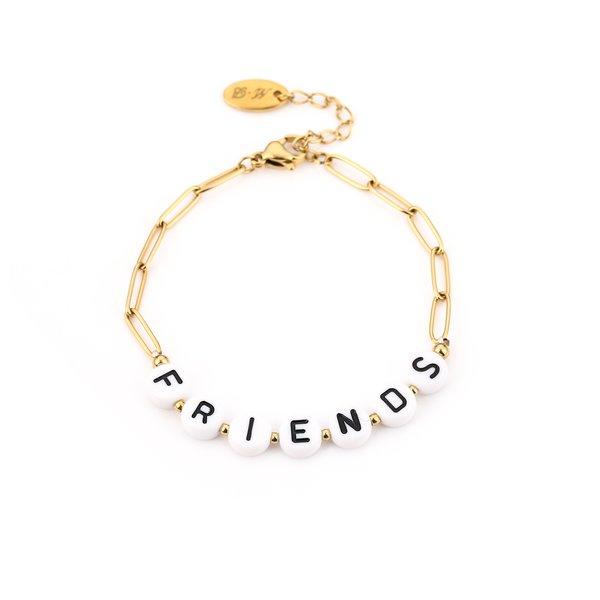 Armband Friends l Goud