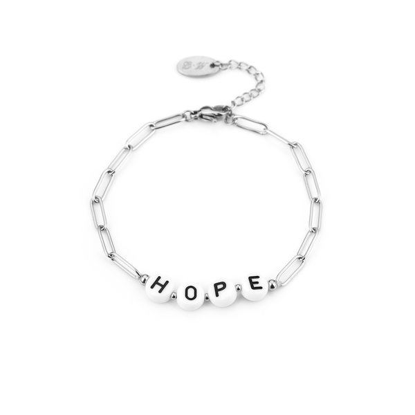 Armband Hope l Zilver