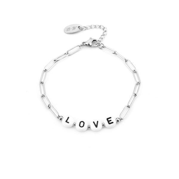 Armband Love l Zilver