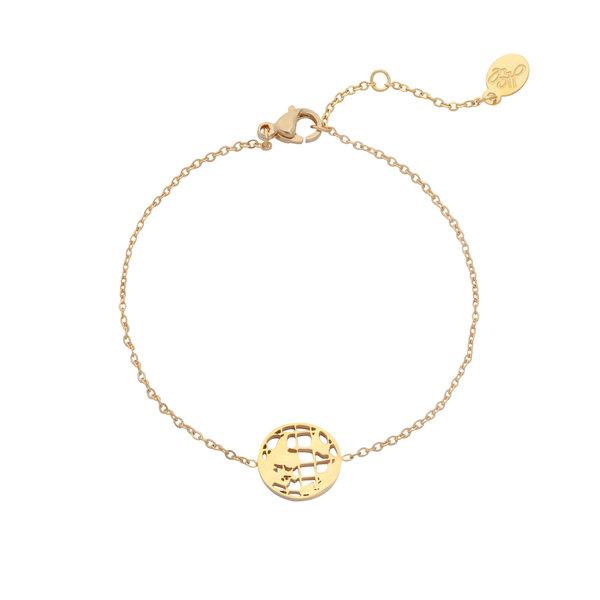 Yehwang Armband Wereld |  Goud