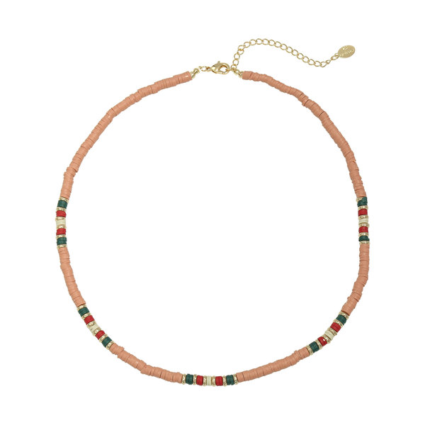 Yehwang Ketting Colorful Day  | Roze