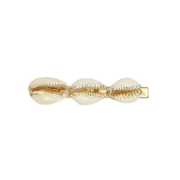 Yehwang Haarclip Golden Shells