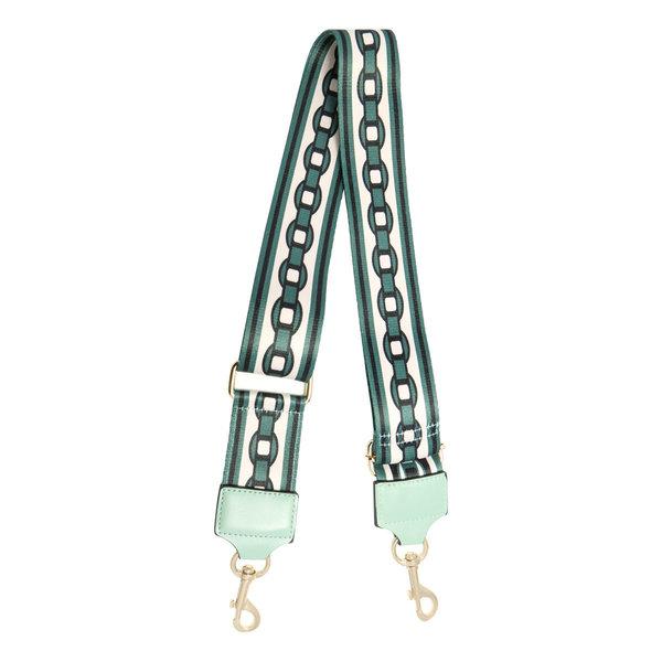 Yehwang Schoudertas band - Bag strap Chain Mintgroen