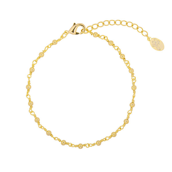 Yehwang Armband Connected Dots - Goud