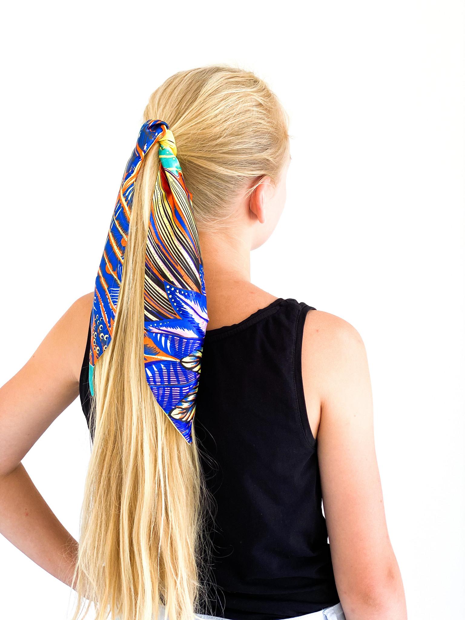 Hoe draag je Haarsjaaltjes?
