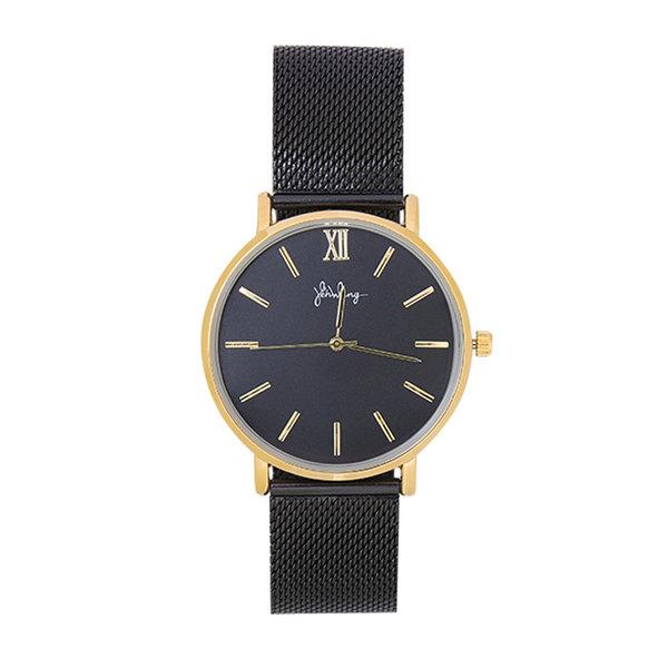 Yehwang Horloge Lovely Times - Zwart