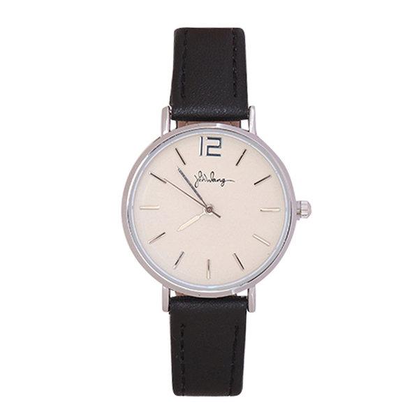 Yehwang Horloge Little Time   Zwart & Zilver