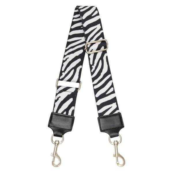 Yehwang Schoudertas band - Bag strap - Zebra | Zwart-Wit