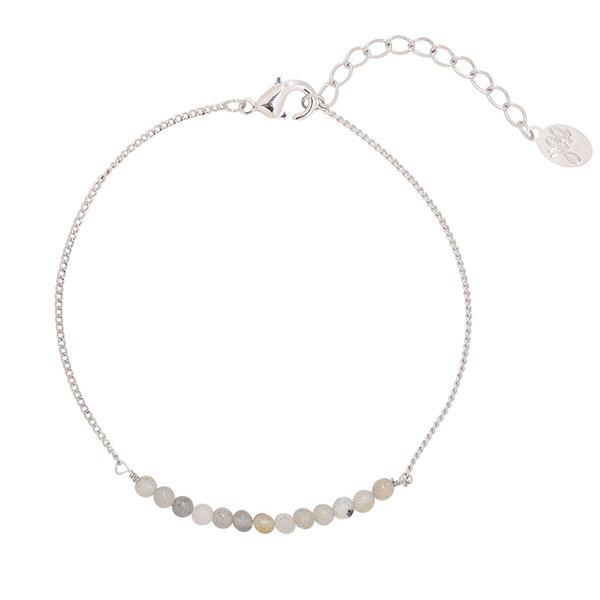 Yehwang Armband little happiness — Grijs -zilver