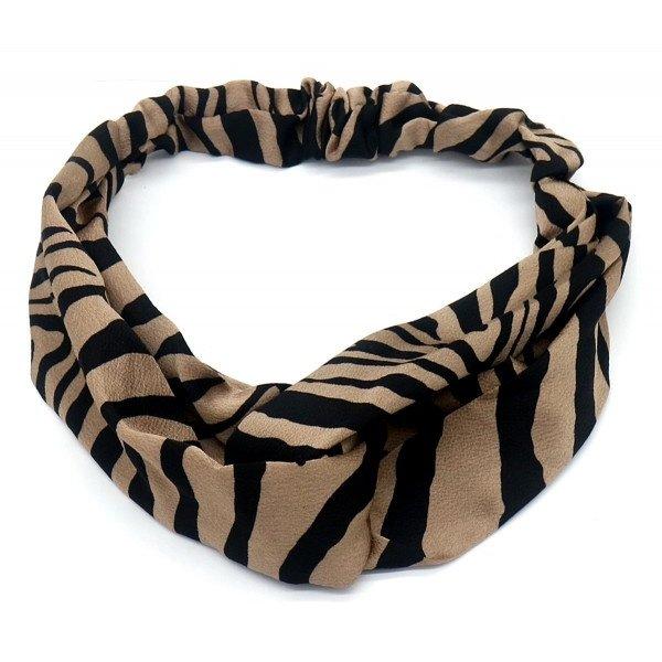 Haarband Zebra | Bruin