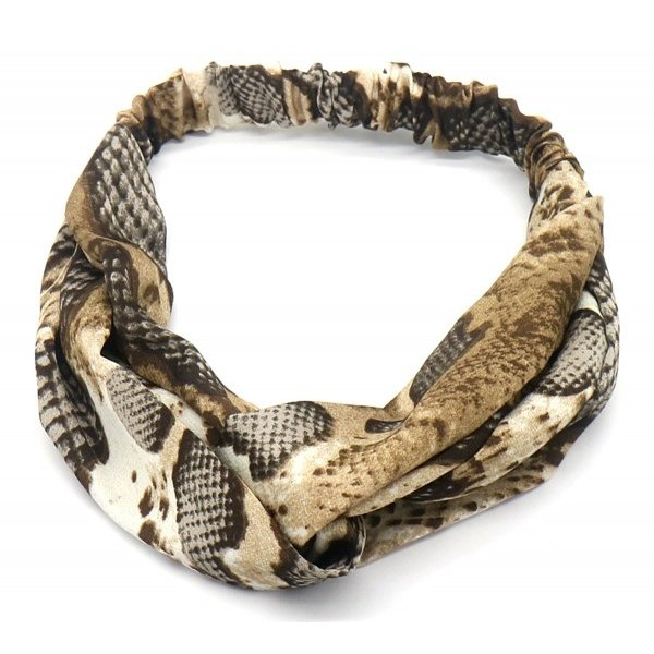 Haarband Slang | Bruin