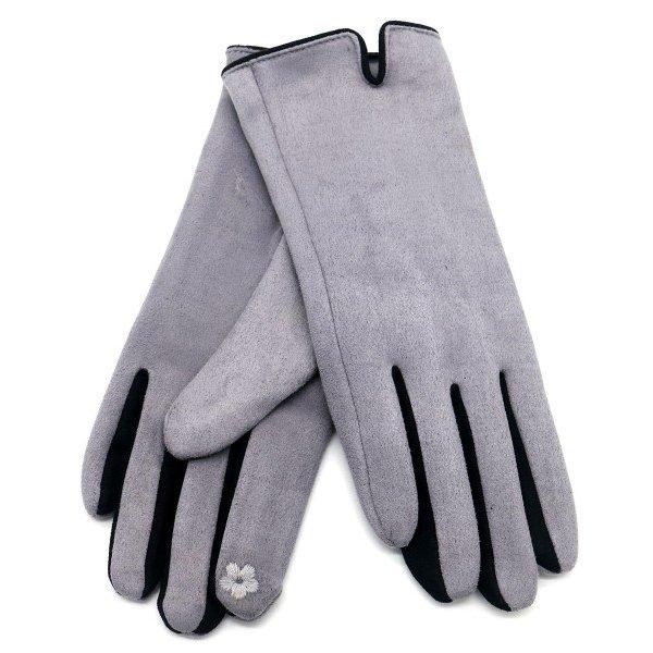 Handschoenen | Grijs - Zwart