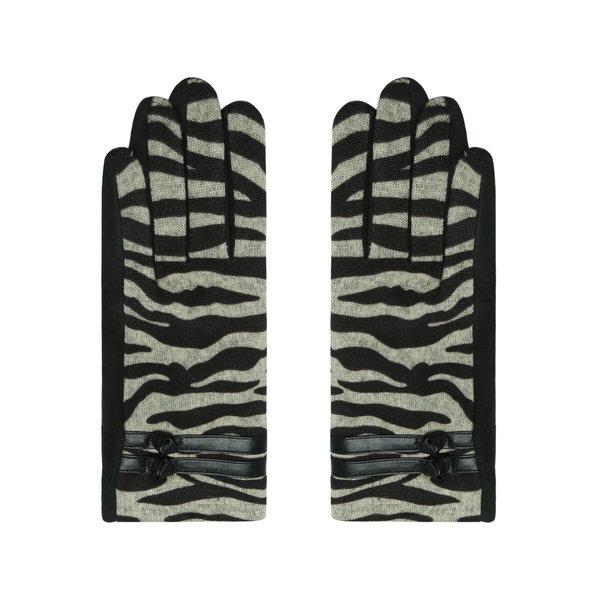 Yehwang Handschoenen Zebra style    Beige
