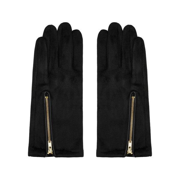 Handschoenen Zip me Up | Zwart