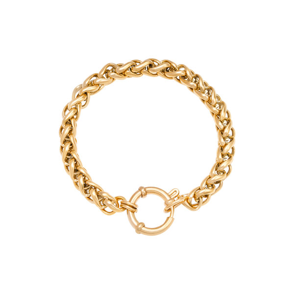 Armband Schakel Chain Quinn | Goud