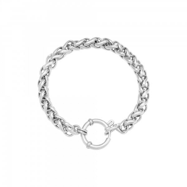 Armband Schakel Chain Quinn   Zilver