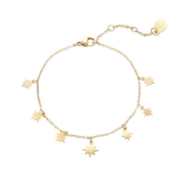 Enkelbandje Counting Stars | Goud