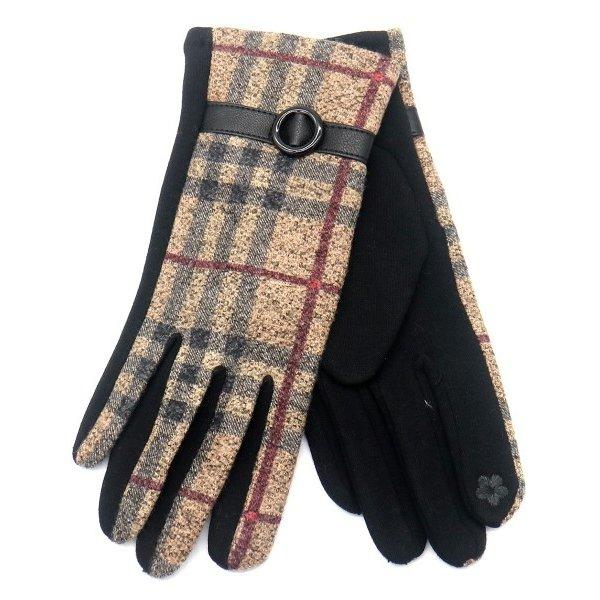 Handschoenen Ruit | Bruin