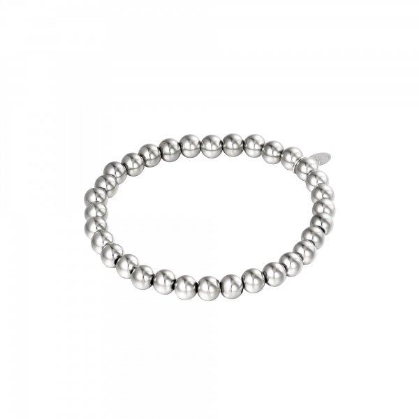 Armband Kralen Groot | Zilver