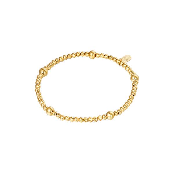 Armband Kralen Beady | Goud