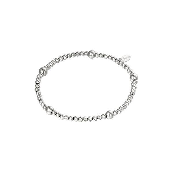 Armband Kralen Beady | Zilver