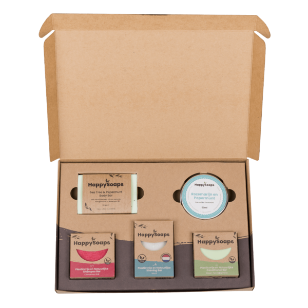 Happy Soaps Happy Soap Giftbox - Herbs & Spices | Groot