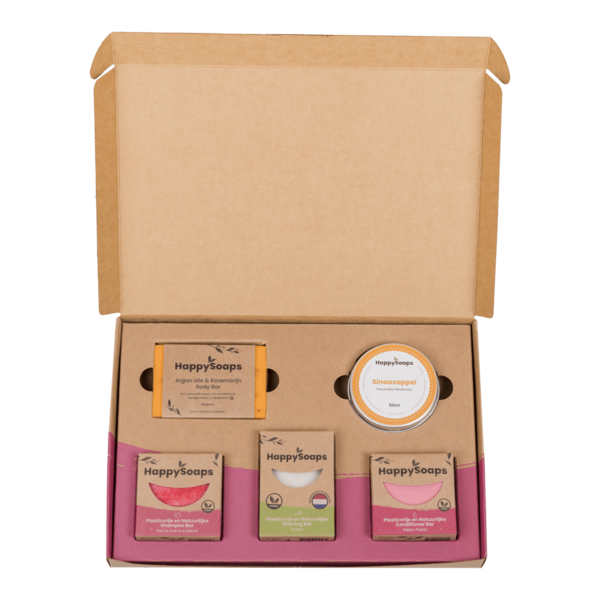 Happy Soaps Happy Soap Giftbox -  Fruit Passion   Groot