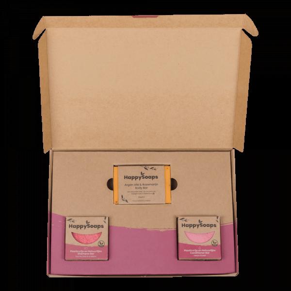 Happy Soaps Happy Soap Giftbox -  Fruit Passion | Medium