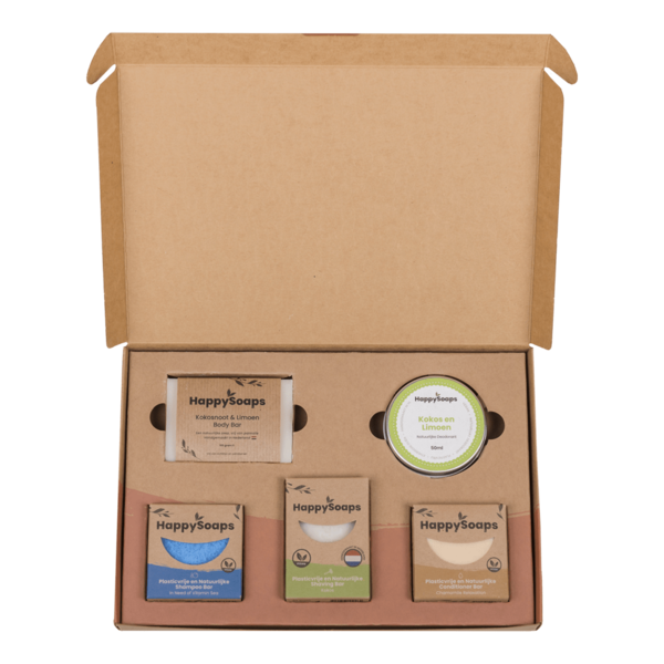Happy Soaps Happy Soap Giftbox -  Tropical Sensation  | Groot