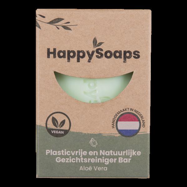 Happy Soaps Gezichtsreiniger Bar |  Aloe Vera