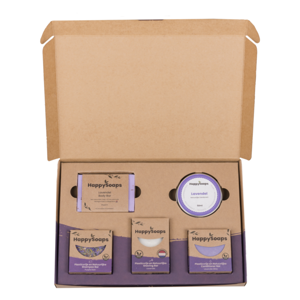 Happy Soaps Happy Soap Giftbox - Lavender Lullaby | Groot