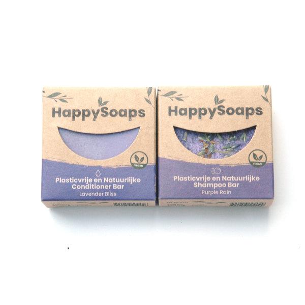 Happy Soaps HappySoaps Shampoo en conditioner set | Lavendel