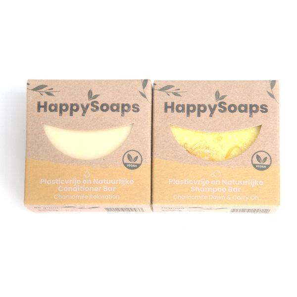 Happy Soaps HappySoaps Shampoo en conditioner set   Chamomile Down