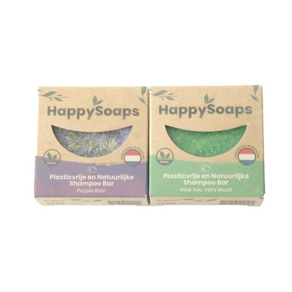 Happy Soaps HappySoaps Shampoo set | Aloë en lavendel