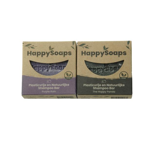 Happy Soaps HappySoaps Shampoo bar set | Lavendel en Panda