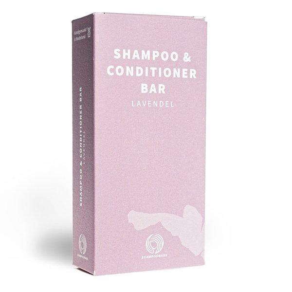 Shampoobars Shampoo & Conditioner Bar Lavendel