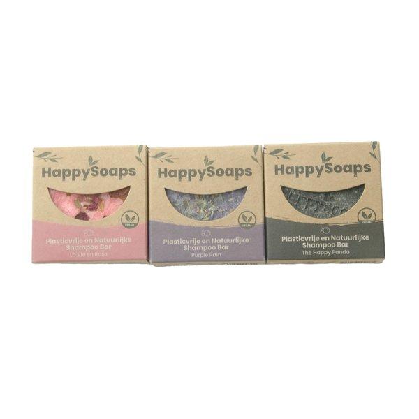 Happy Soaps HappySoaps Shampoo bar set | Rose, Lavendel en Panda