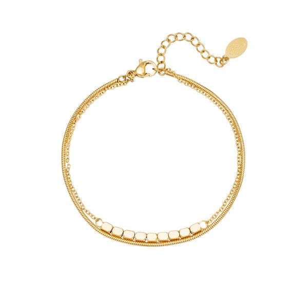 Armband Elegant   Goud