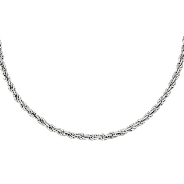 Ketting Twisted Chain   Zilver