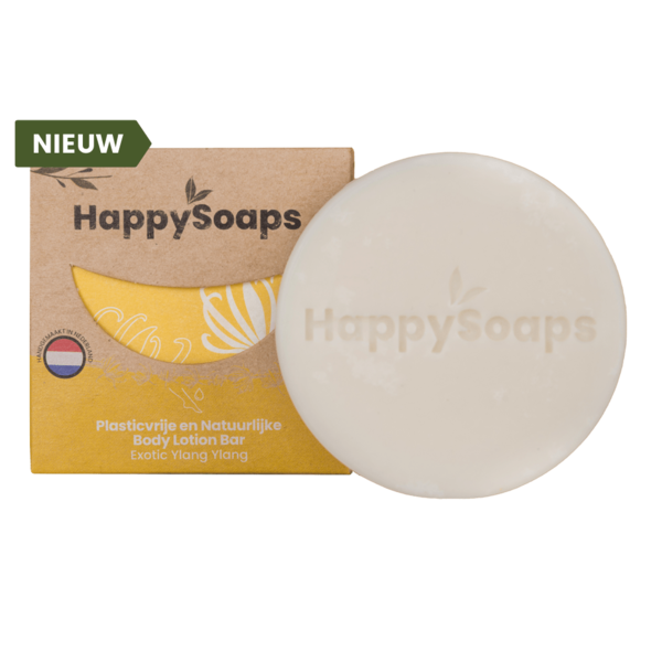 Happy Soaps BodyLotion Bar | Exotic Ylang Ylang