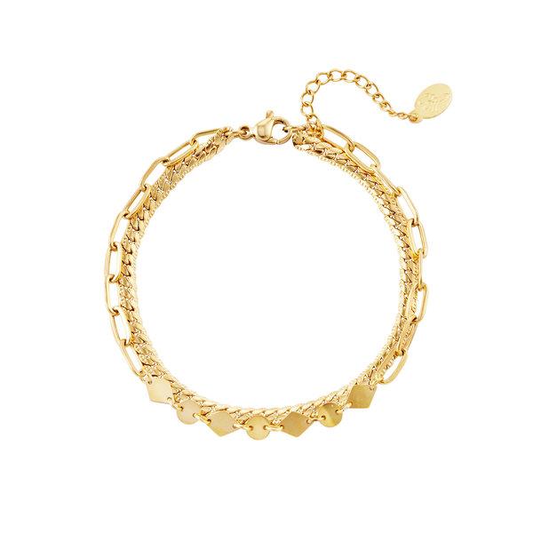 Yehwang Armband Chunky Chain   Goud
