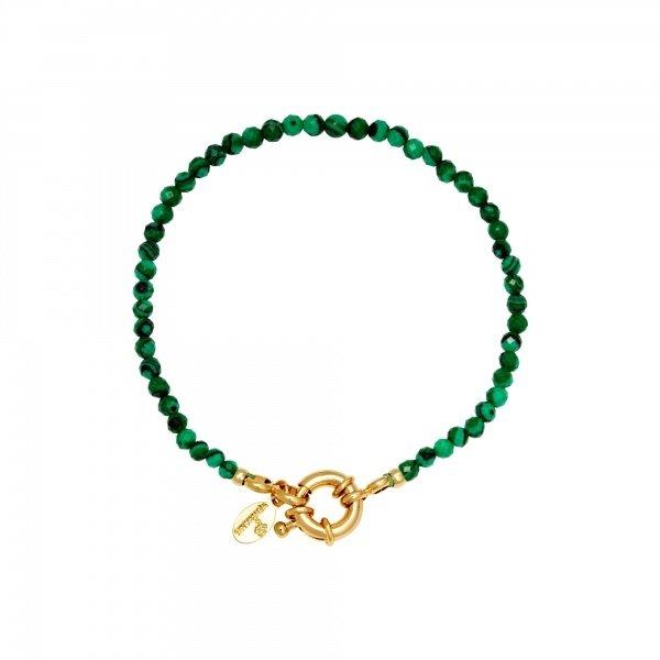 Armband kralen Ziggy | Groen