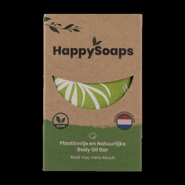 Happy Soaps Body Oil Bar | Aloë vera