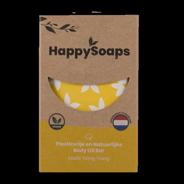 Happy Soaps Body Oil Bar | Exotic Ylang Ylang