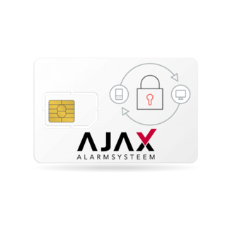 Ajax Systems Alarmsysteem M2M Simkaart