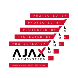 Ajax Systems Alarmsysteem Stickerpakket