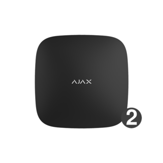 Ajax Systems Hub 2 Zwart